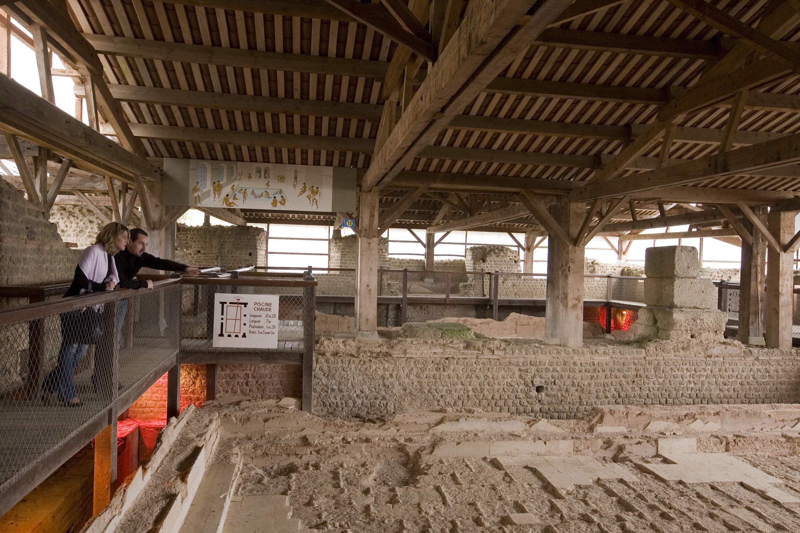 Thermes de Cassinomagus à Chassenon