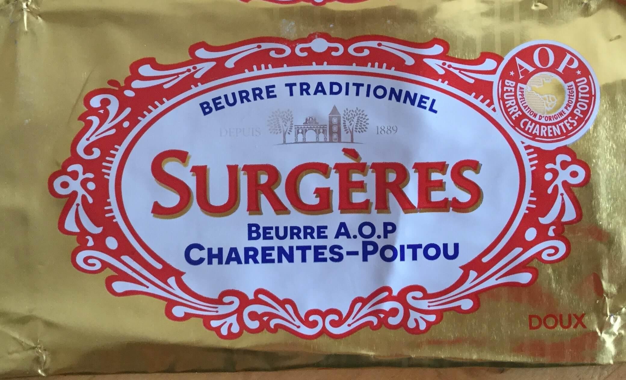 Beurre de Surgères