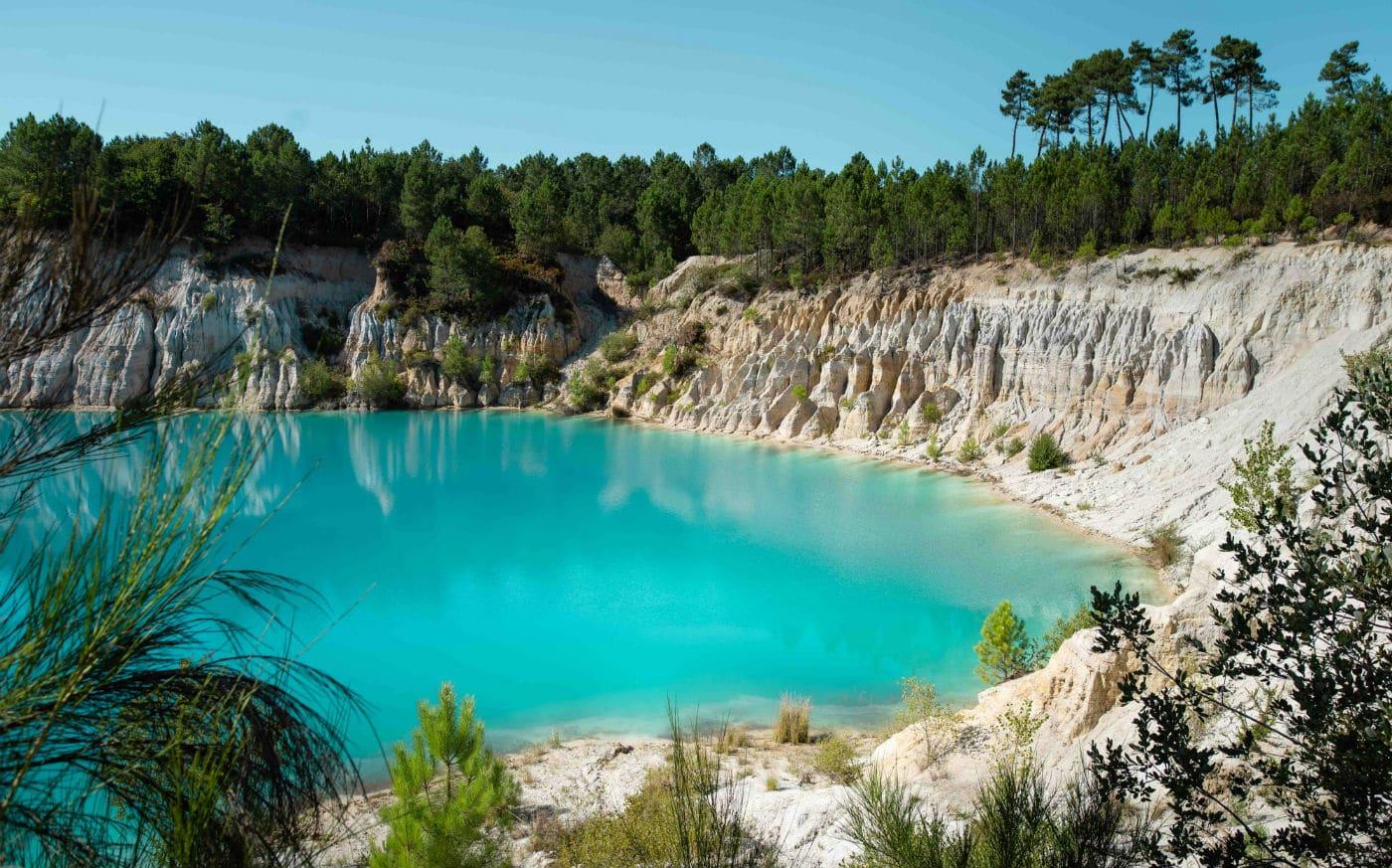 lac turquoise en Charentes