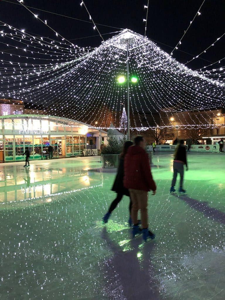 Patinoire de Noël en Charentes