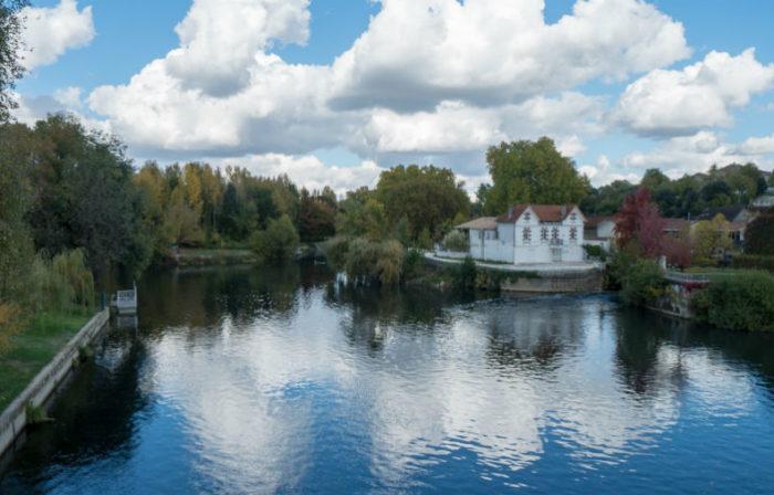 Le fleuve Charente à Cognac