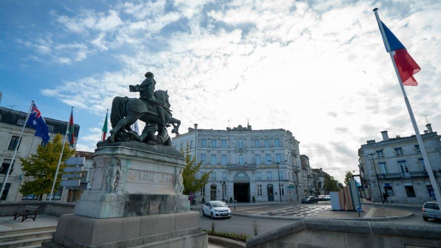 Monument à François 1er à Cognac