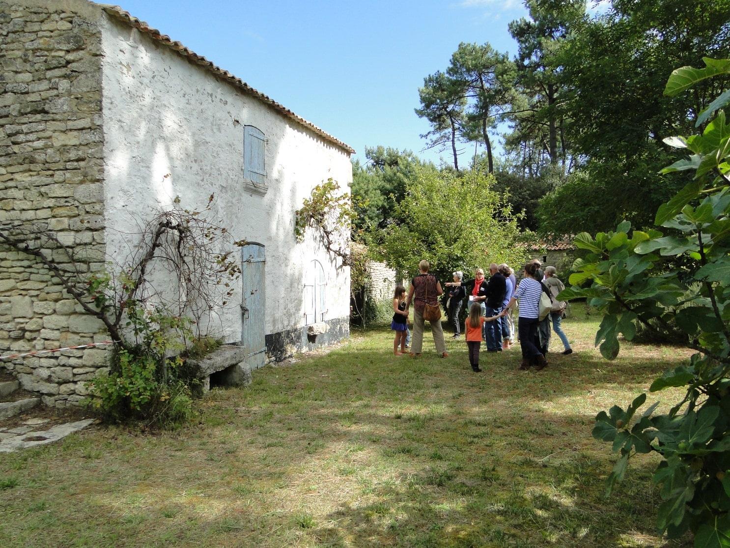 Centre sur l'éco construction île d'Oléron