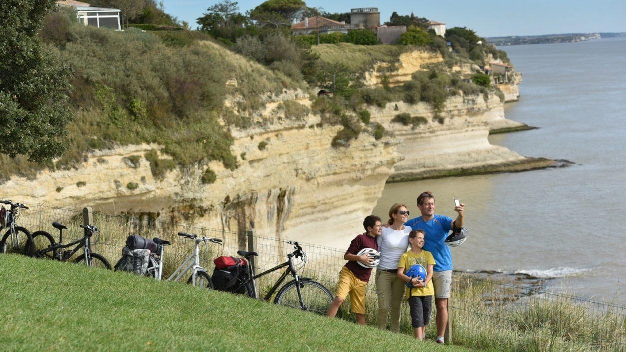 falaises calcaires de Meschers-sur-Gironde