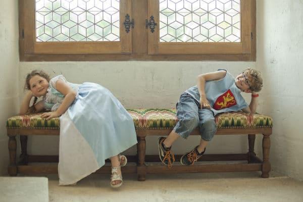 déguisements pour enfants château en Charentes