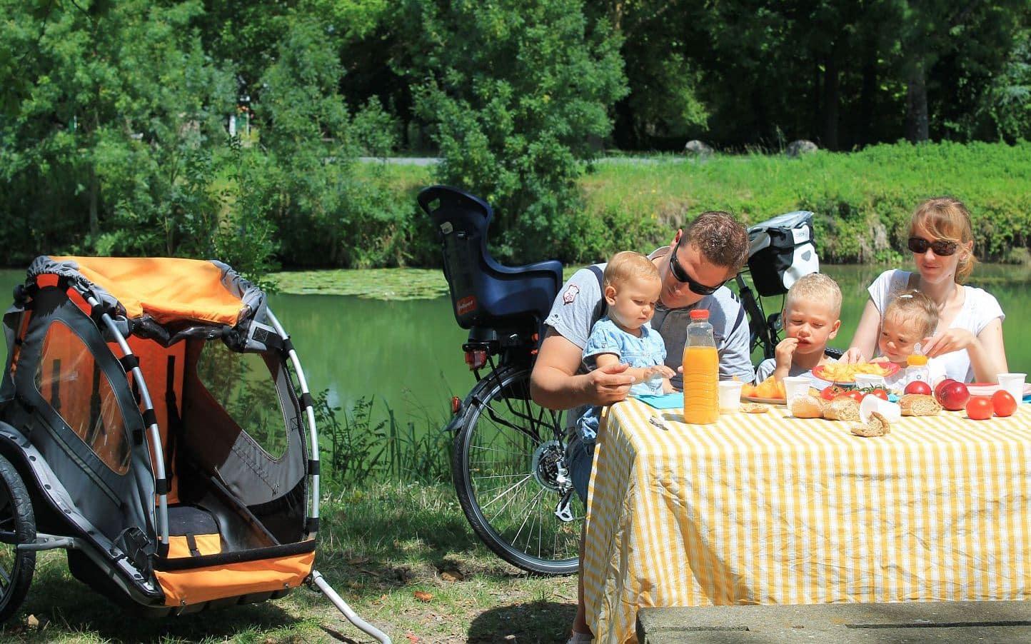 pique-nique avec un bébé en Charentes