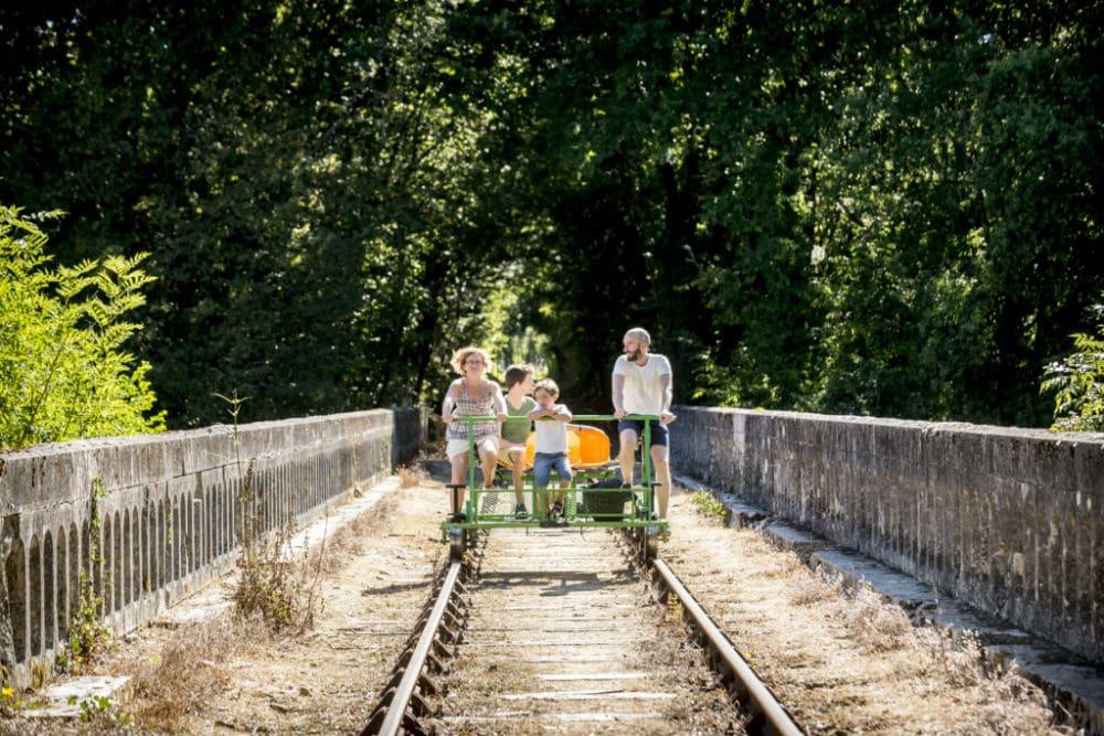 Vélo rail Confolens