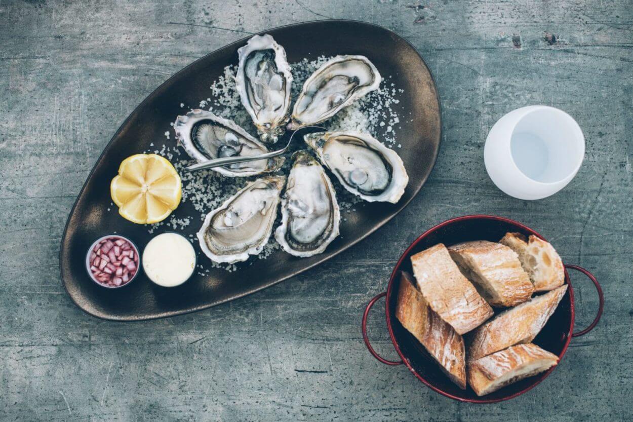 Assiette de 6 huîtres, Charente-Maritime