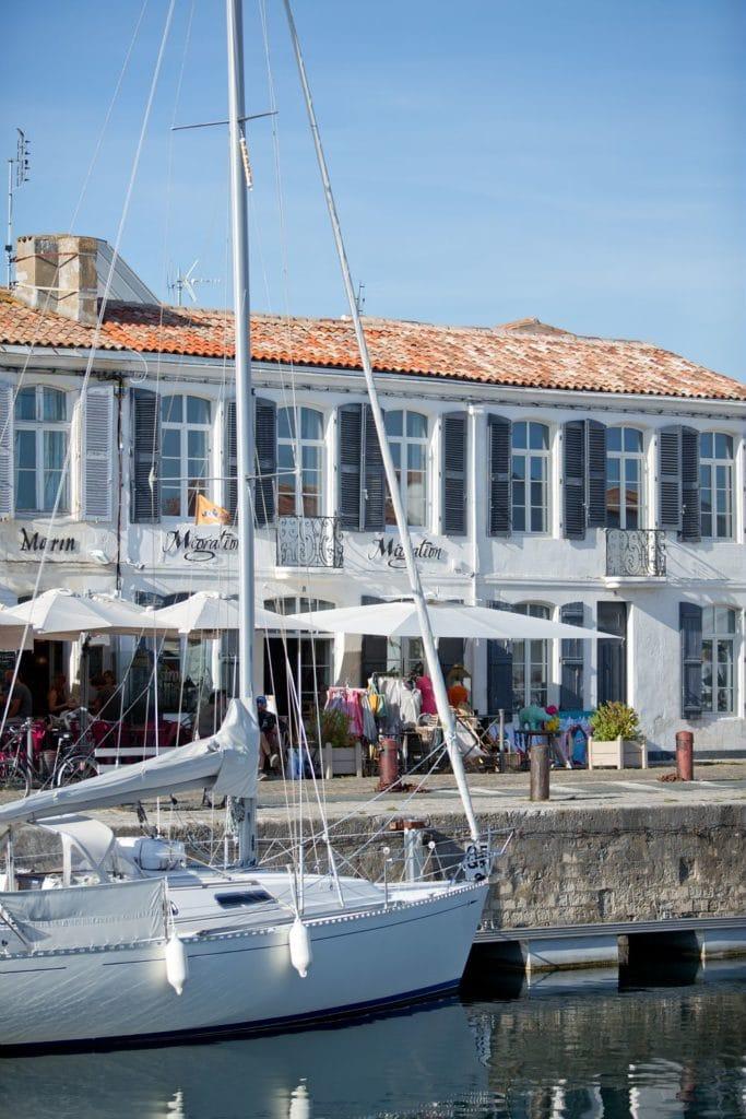 Le port de Saint-Martin de Ré