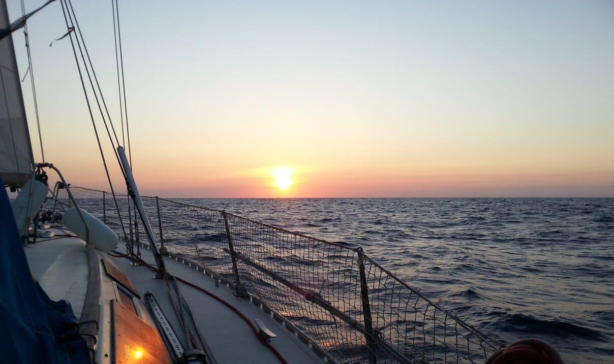 soirée et repas à bord d'un voilier en Charentes