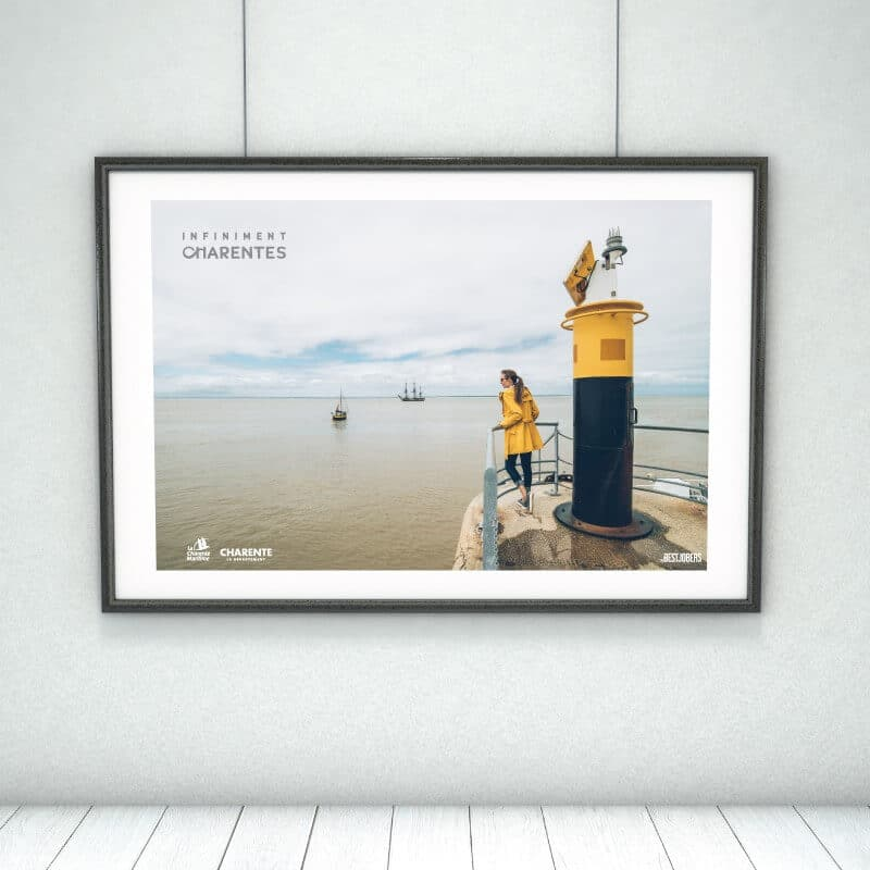 Affiche Infiniment Charentes