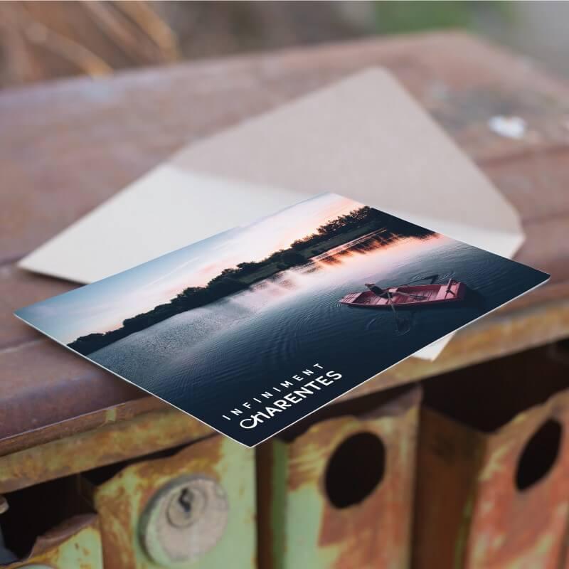 Carte postale Infiniment Charentes