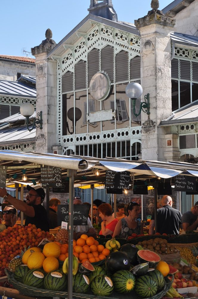 marché à La Rochelle