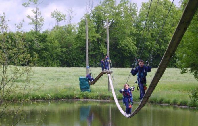 activités à Aventure parc à Massignac en Charentes