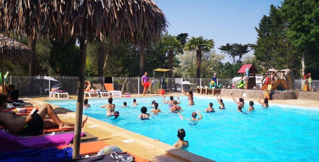 piscine du camping d'Airotel à l'île d'Oléron