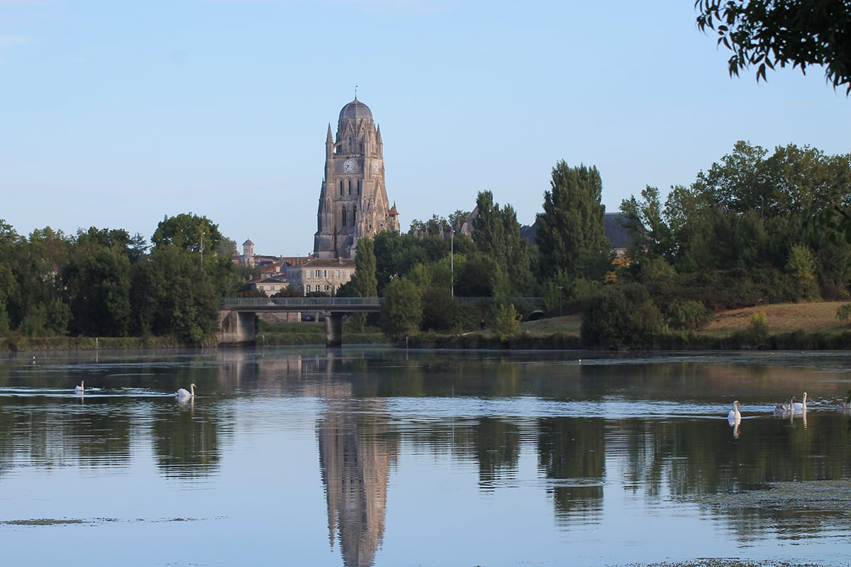église Sainte-Eutrope à Saintes