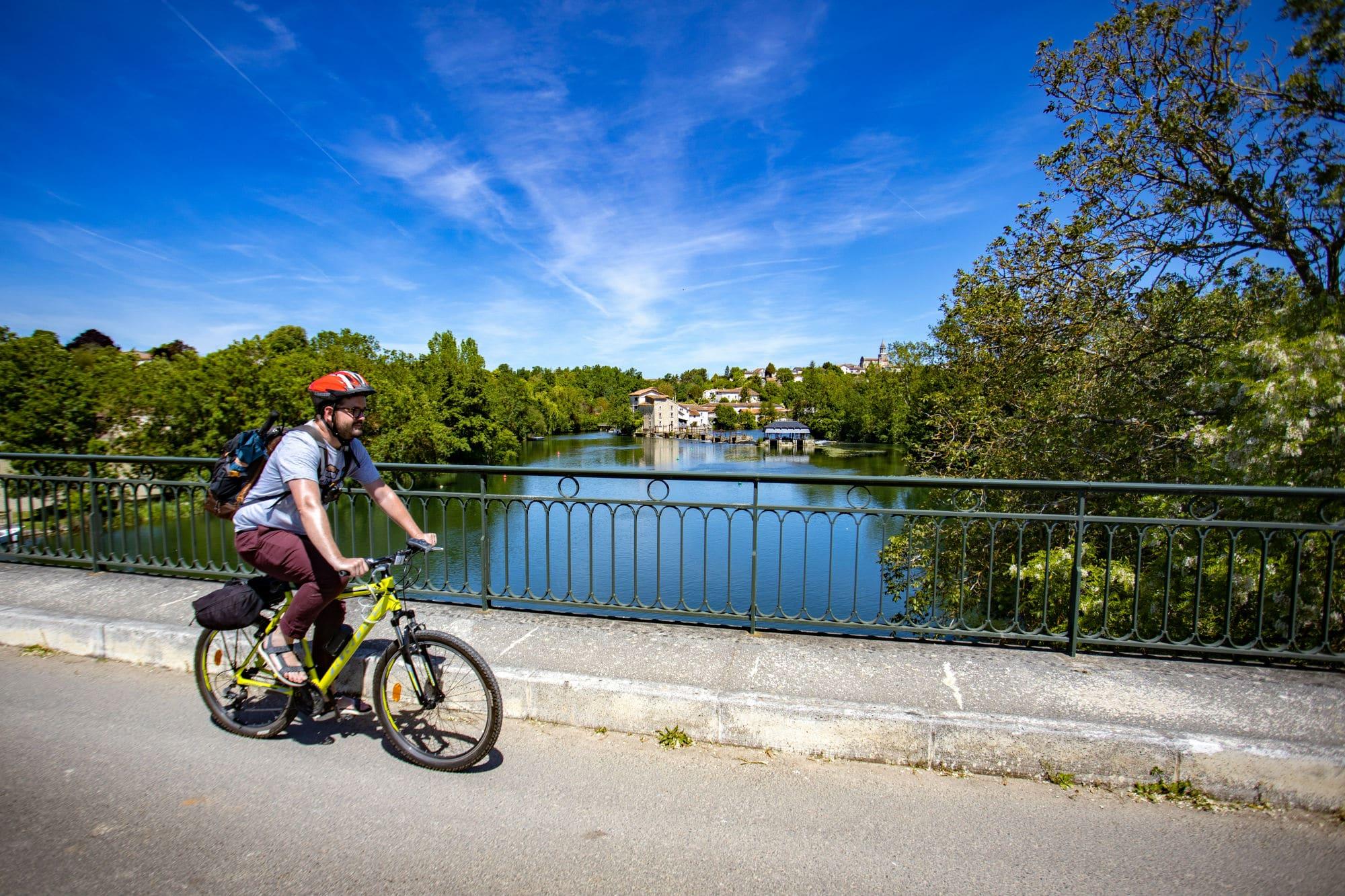 vélo en Charentes