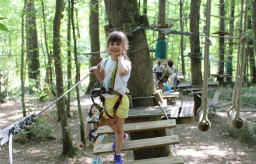 Parc aventure de Fontdouce
