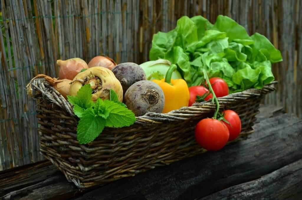 légumes produits locaux