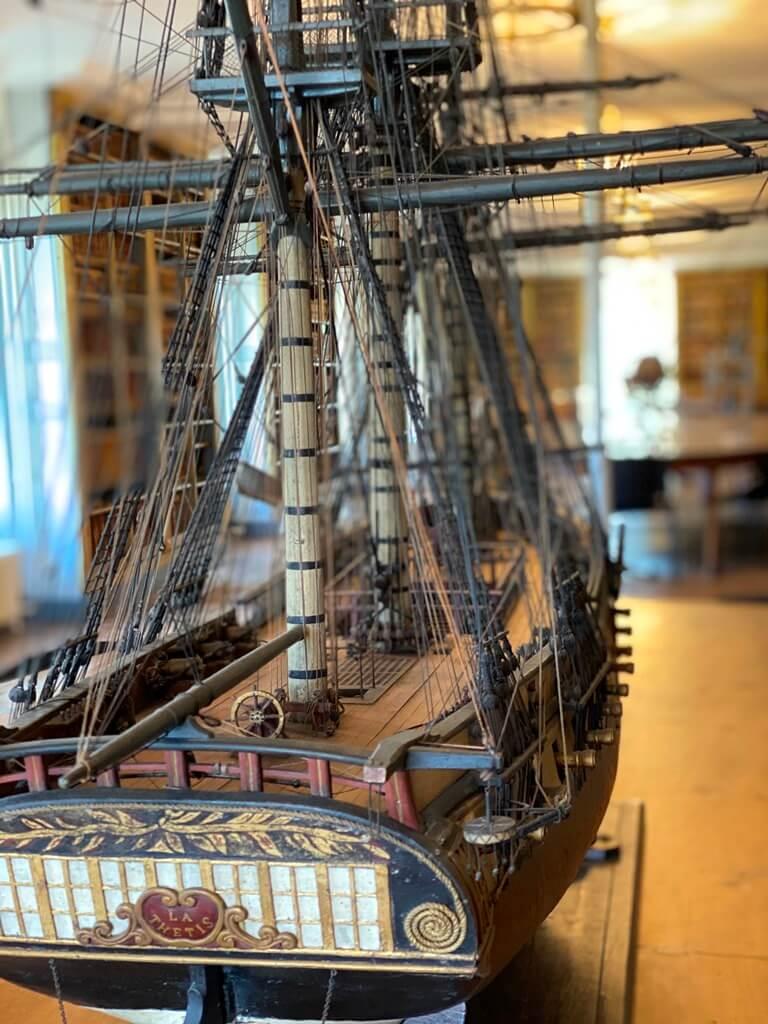 Maquette bateau - Musée de l'École de la Médecine Navale - Rochefort