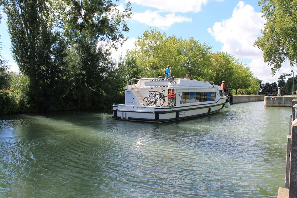 Croisière sur la Charente