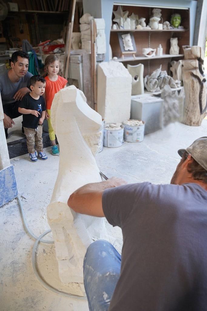 artisanat sculpture atelier