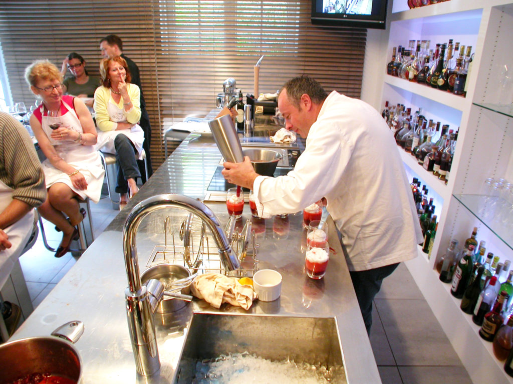 Thierry Veyrat culinary class Bourg-Charente