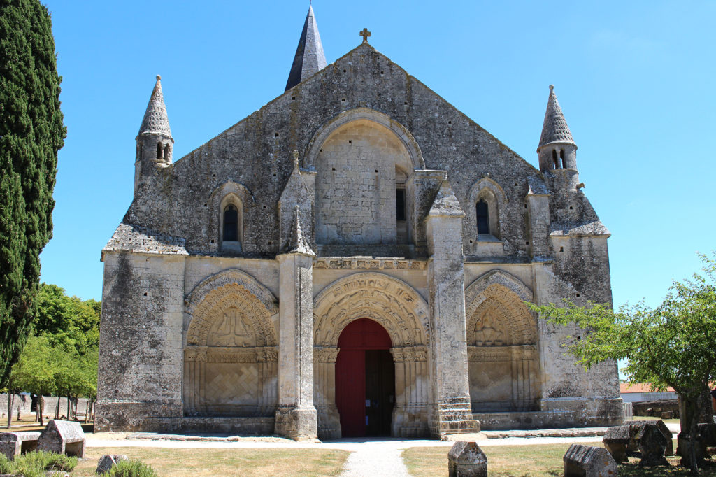 Saint Pierre d'Aulnay church